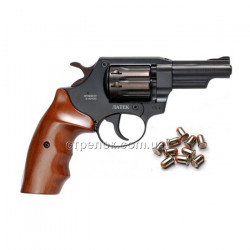 Револьвер под патрон Флобера Safari РФ 430 орех