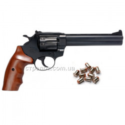 Револьвер под патрон Флобера Safari РФ 461 орех