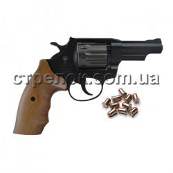 """Револьвер под патрон Флобера Snipe 3"""" орех"""