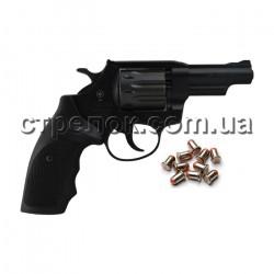 "Револьвер под патрон Флобера Snipe 3"" пластик"