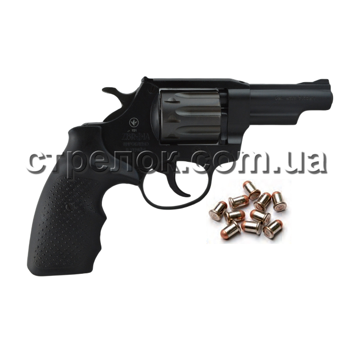 "Револьвер под патрон Флобера Snipe 3"" резино металл"