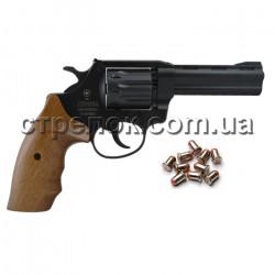 """Револьвер под патрон Флобера Snipe 4"""" орех"""