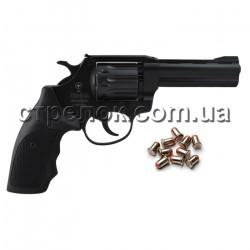"Револьвер под патрон Флобера Snipe 4"" пластик"