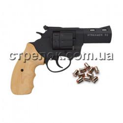 Револьвер под патрон Флобера Streamer R2 black бук