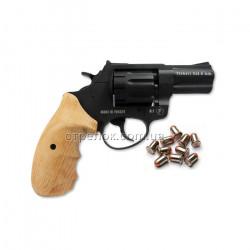 Револьвер под патрон Флобера Trooper 2.5 black бук