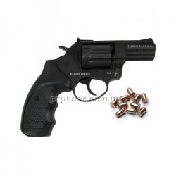 Револьвер под патрон Флобера Trooper 2.5 black пластик