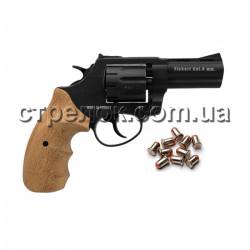 "Револьвер под патрон Флобера Trooper 3"" black бук"