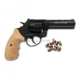 Револьвер под патрон Флобера Trooper 4.5 black бук