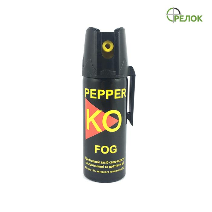 Газовый баллончик Klever Pepper KO Fog аэрозольный, 50 мл