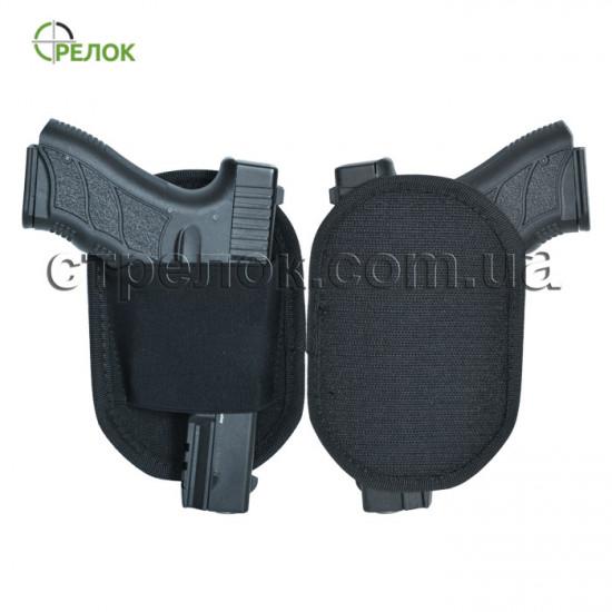 Сумка синтетическая плечевая с кобурой Стрелок СП-8, темно-серая
