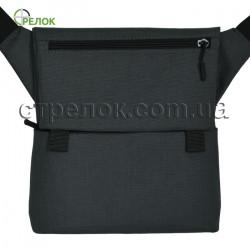 Сумка синтетическая плечевая с кобурой Стрелок СП-5, темно-серая