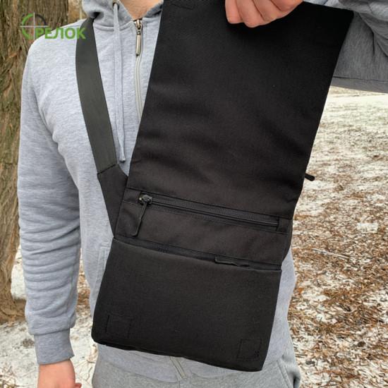 Сумка плечевая с кобурой Стрелок СП-10 кожа/синтетика