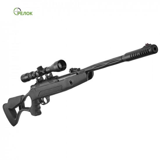 Винтовка пневматическая Hatsan AirTact ED с газовой пружиной (усиленной) с прицелом Sniper 3-9X40 AR
