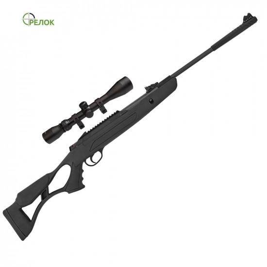 Винтовка пневматическая Hatsan AirTact PD с газовой пружиной (усиленной) с прицелом Sniper 3-9X40 AR